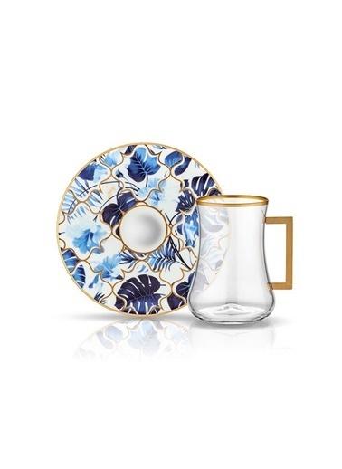 Dervish Kulplu Çay St 6'lı Amazon Mavi-Koleksiyon